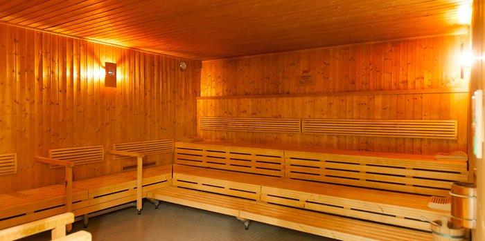 Die Sauna des Seehotels