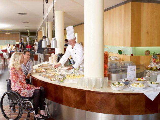 Buffet im Restaurant des Seehotel Rheinsberg