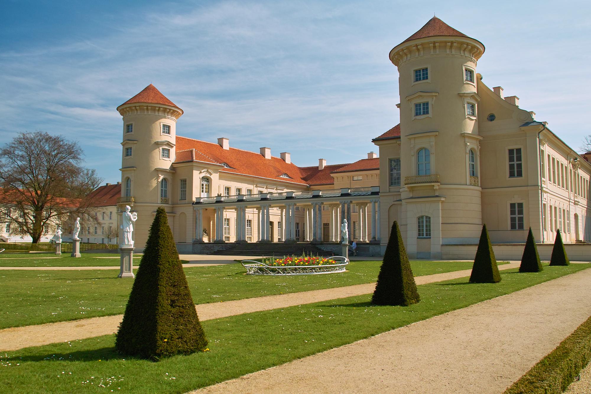 Blick auf das Rheinsberger Schloss